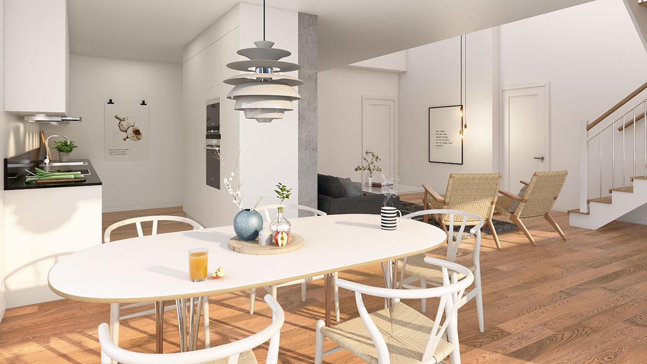 Rymliga och moderna kök